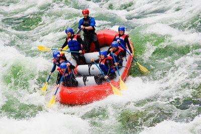 Rafting en Huesca en grupo