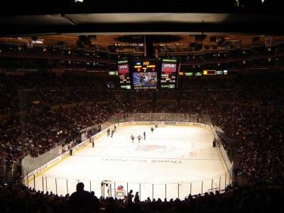 Rangers en el Madison Square Garden