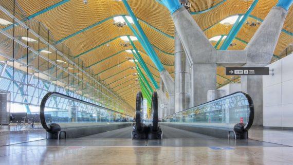 Recogida de equipaje en el Aeropuerto de Barajas