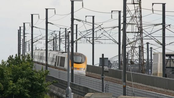 歐洲之星網絡將乘火車前往倫敦