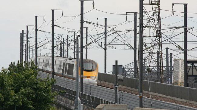 Red Eurostar para viajar a Londres en tren