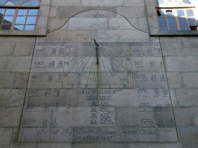 Reloj de la Concatedral de Vigo