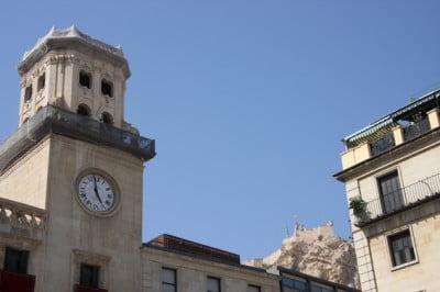 Reloj del Ayuntamiento de Alicante
