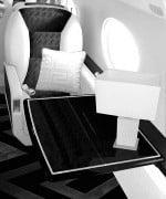 Respaldos del Jet privado