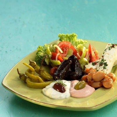 Restaurante griego  ensaladas