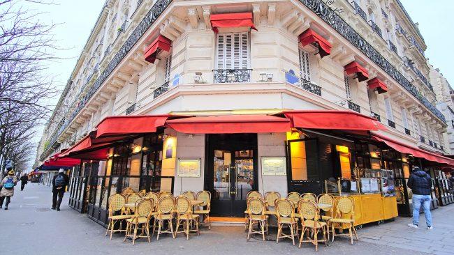 Restaurante típico parisino