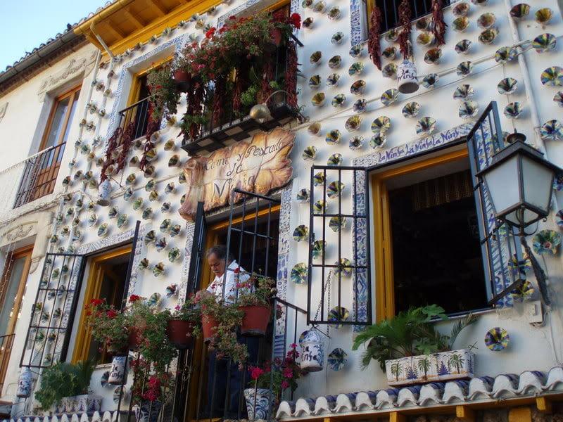Restaurante tradicional de Granada