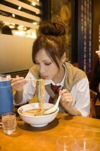 Restaurantes japoneses sopa