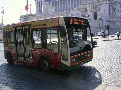 Bus eléctrico de Roma