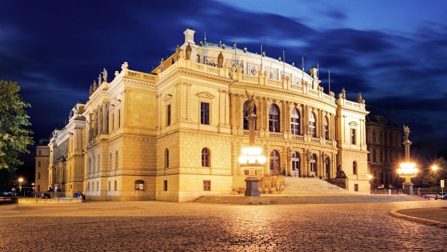 Rudolfinum:捷克共和國最重要的禮堂