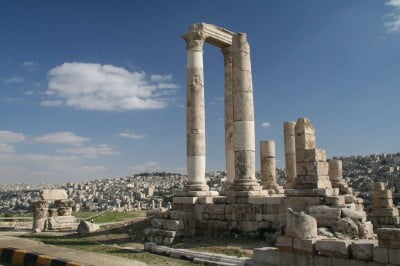 Ruinas en Amman