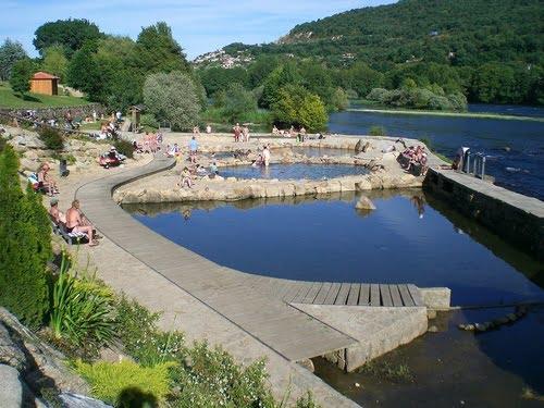 Baños Romanos Ourense:Ruta termal, Orense