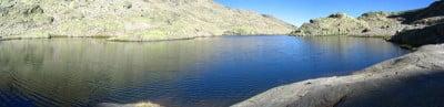 rutas de Gredos Laguna grande en el Circo de Gredos