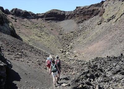 Rutas entre volcanes