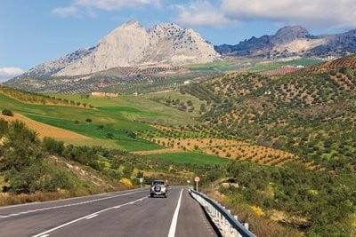 Rutas por Andalucía montañas en Málaga
