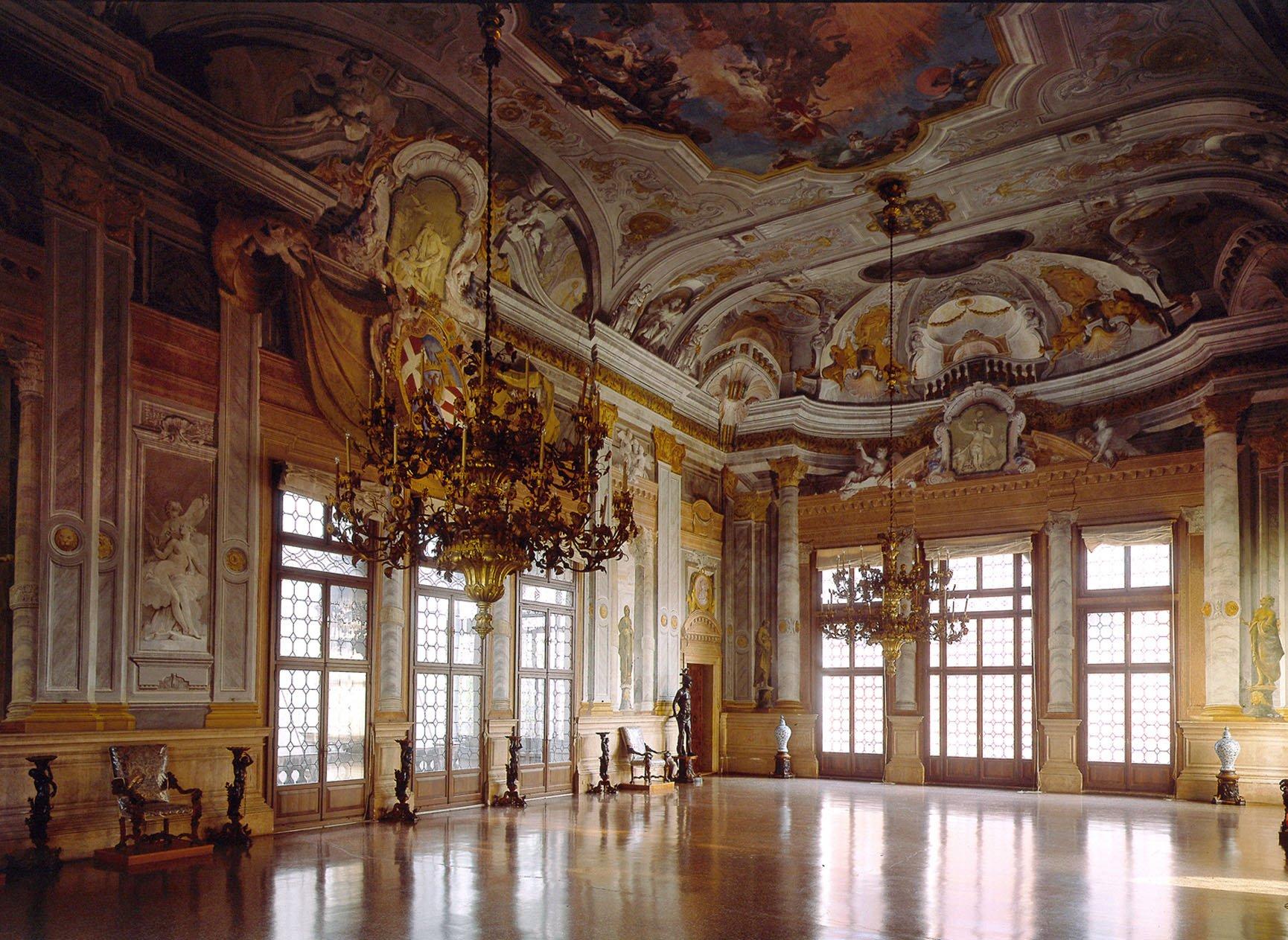 Sala de baile de Ca'Rezzonico