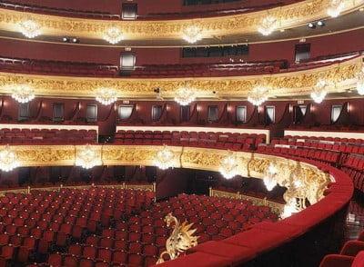 Sala del Liceo, Teatro Cervantes en Buenos Aires