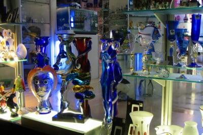Sala del Museo del Vidrio