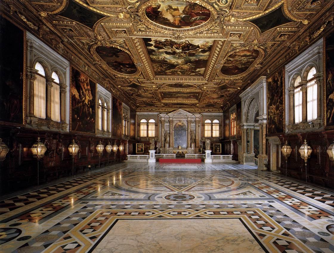 Sala Superior, Venecia