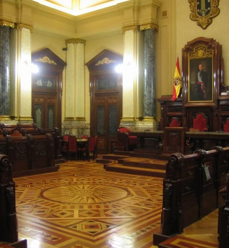 Salón del Ayuntamiento de A Coruña
