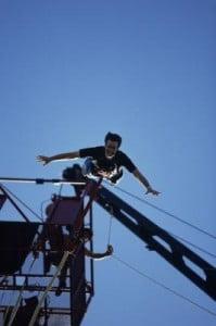 Saltos de Puenting caísa libre