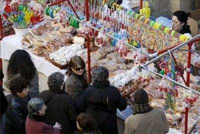 Día de San Blas en Pamplona