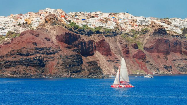 Costa de Santorini