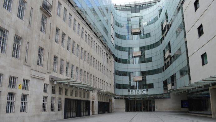 Sede de la BBC en Londres, Inglaterra