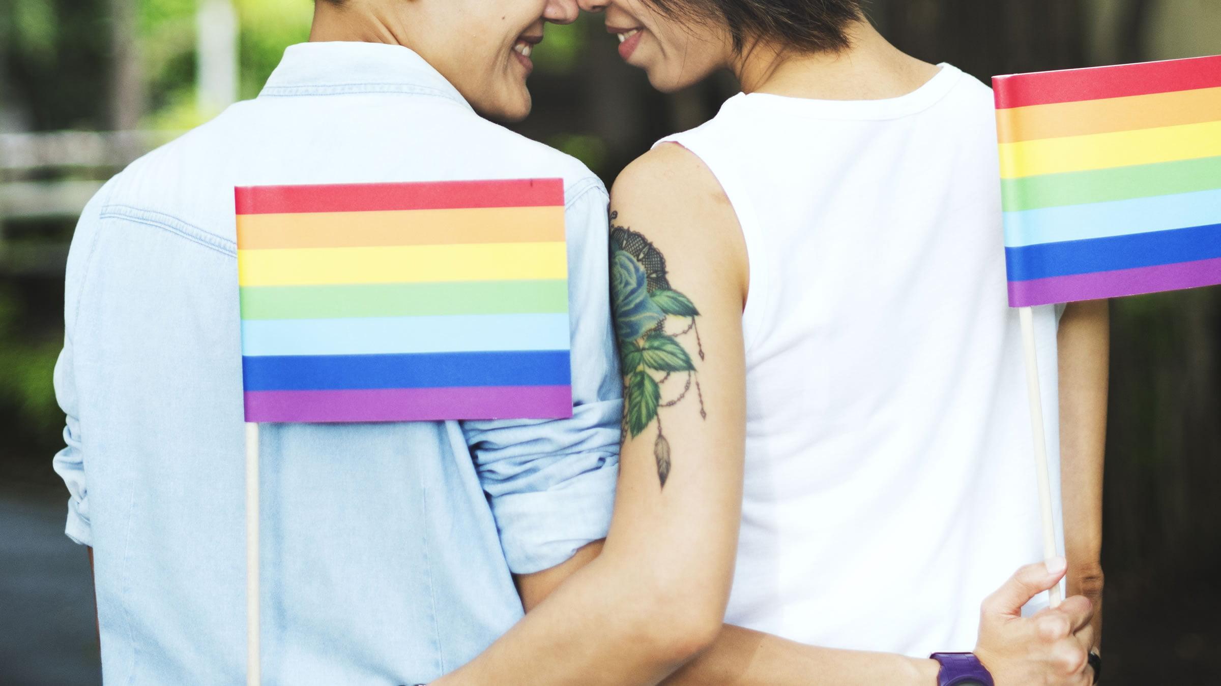 Significaco de la bandera del Orgullo Gay