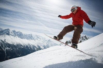 snowboard saltos