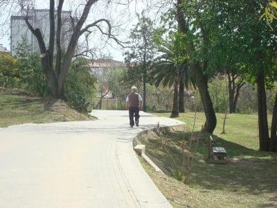 Sosiego en el Parque Moret