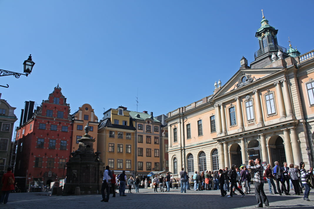 Stortorget en Estocolmo