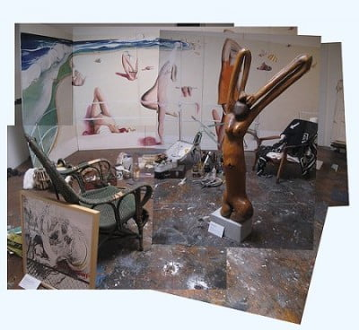 Estudio de Brett Whiteley