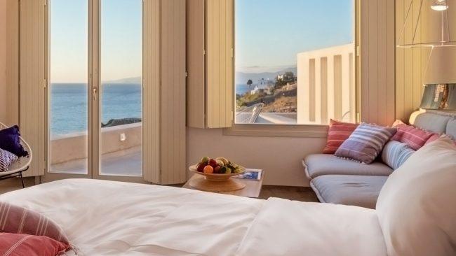 Suite Deluxe en Boheme Mykonos Hotel