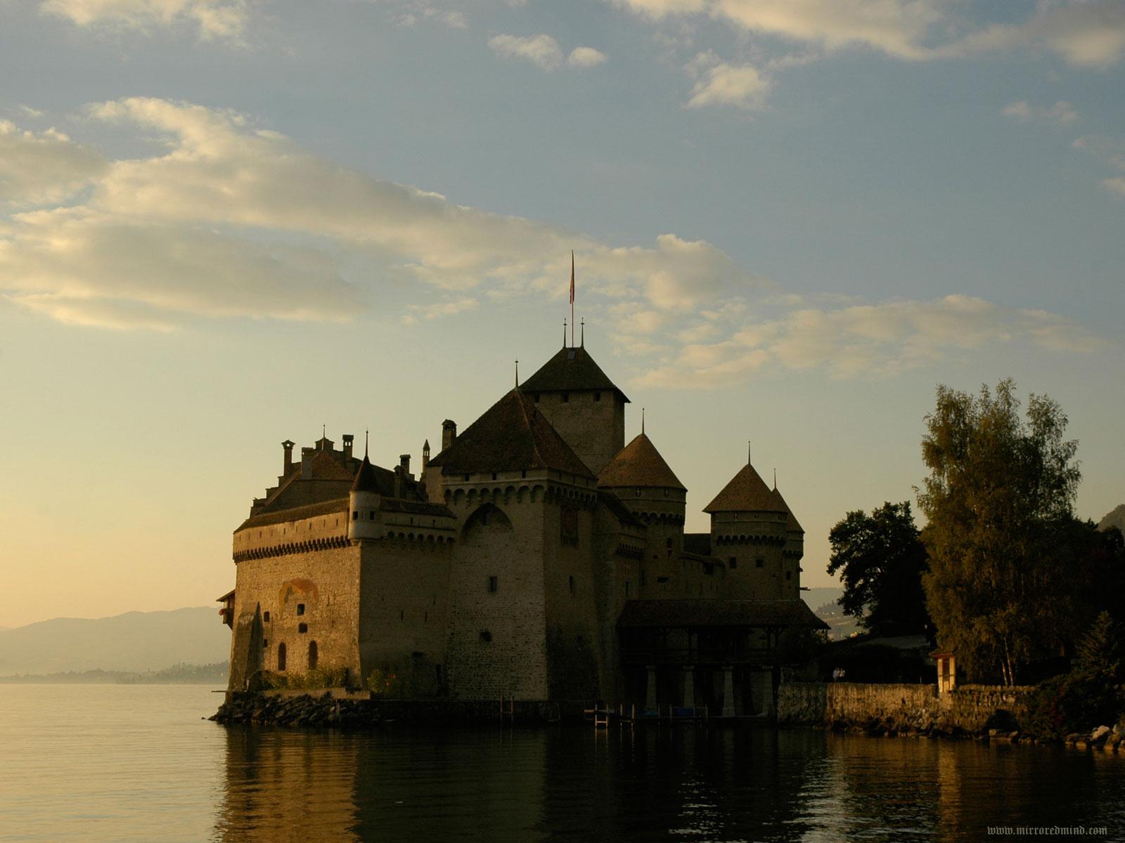 Uno de los impresonantes castillos de Suiza
