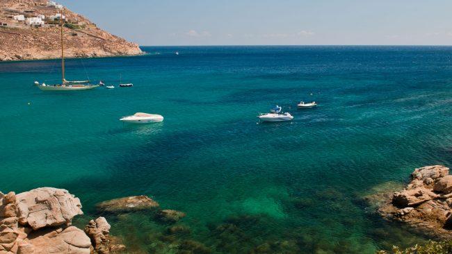 Super Paradise, unha das praias gais de Mykonos