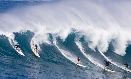 Surf en Bondi Beach
