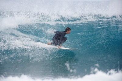 Surf en Marruecos en las olas