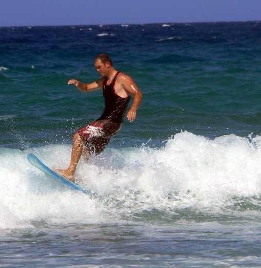 Surf en Playa Blanca