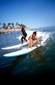 surf en Tenerife practicando