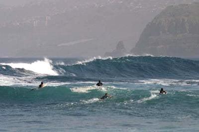 Surf en Tenerife. Puerto de la Cruz