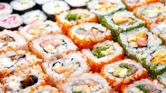 Estilos y variedades de sushi