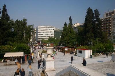 Syntagma en Atenas