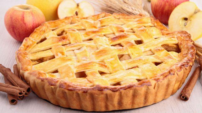 Postre típico de Nueva York: tarta de manzana