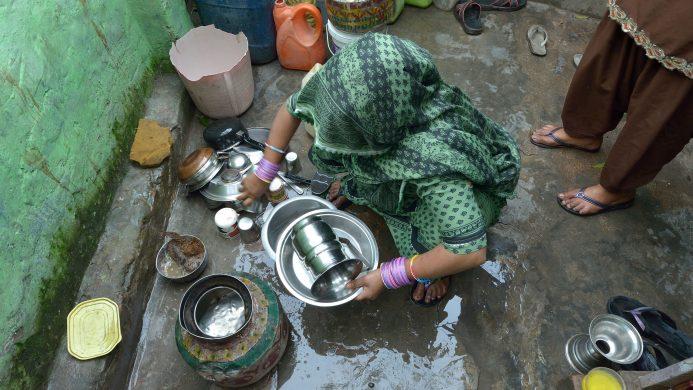 Tasa de extrema pobreza en Jalapa, India