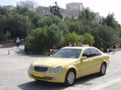 Taxi de Atenas