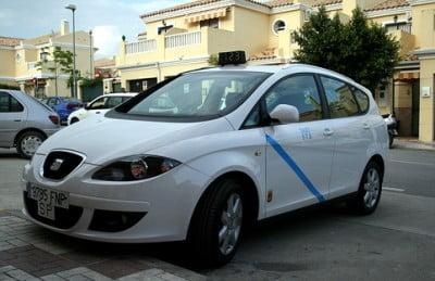 Taxi de Málaga