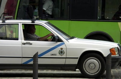 Taxi en La Palma