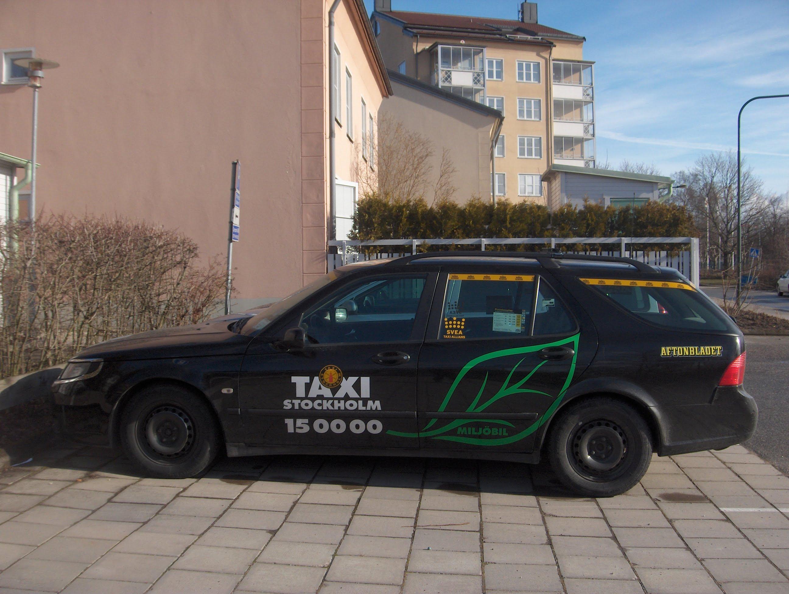 Taxi de Estocolmo
