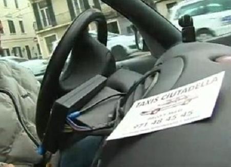 Taxista de  Ciudadela